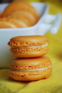 Macarons à la clémentine