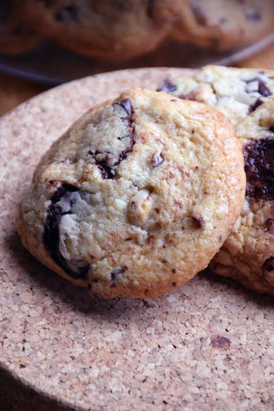 Cookies parfaits chocolat noisette