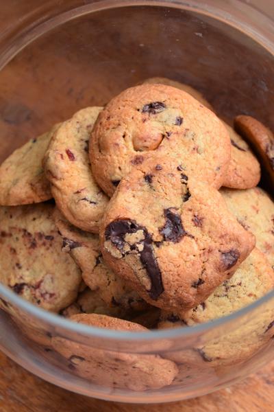 Cookies crousti moelleux au chocolat