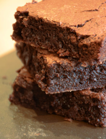 Brownie fondant au chocolat